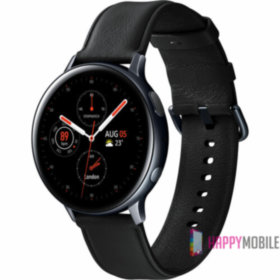 Смарт-часы Samsung Galaxy Watch Active 2 44mm Black Stainless steel (SM-R820NSKASEK)