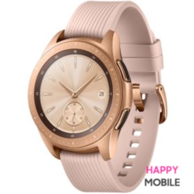 Смарт-часы Samsung Galaxy Watch 42mm LTE Rose Gold (SM-R810NZDA) UA