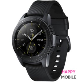 Смарт-часы Samsung Galaxy Watch 42mm LTE Midnight Black (SM-R810NZKA) EU