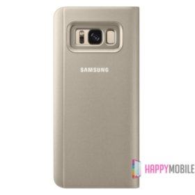 Чехол Samsung для Galaxy S8 Plus G955 Clear View Standing Cover Gold