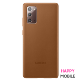 Защитный чехол Leather Cover для Samsung Galaxy Note 20 (N980) EF-VN980LAEGRU - Brown