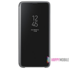 Clear View Standing Cover for Galaxy S9 Black (EF-ZG960CBEGRU)