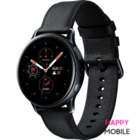 Смарт-часы Samsung Galaxy Watch Active 2 40mm Stainless Steel Black (SM-R830) EU